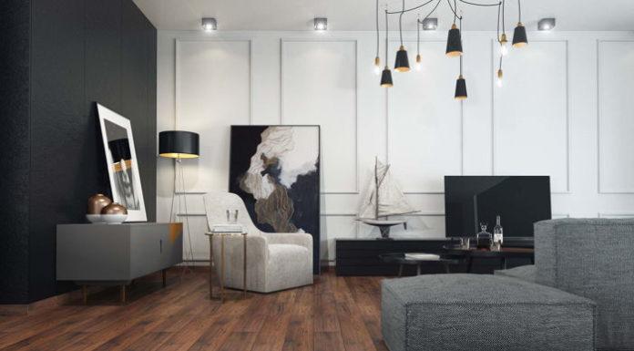 Wzory paneli podłogowych, a styl wnętrza