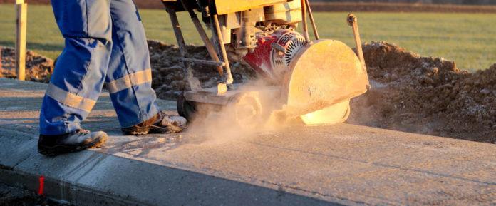 Cięcie betonu w budownictwie